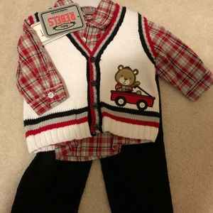 Other - Christmas baby boys outfit